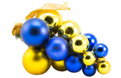 Garland of balloons in the shape of the vine Stock Images