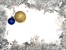 Garland border with toys Royalty Free Stock Image