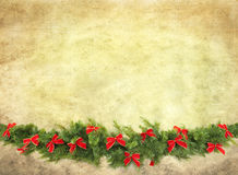 Garland with Bows Royalty Free Stock Photography