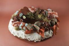 Garland Christmas-ornament Royalty-vrije Stock Foto's