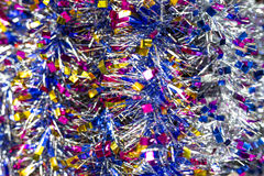 Garland. Colorful festive decorative garland background Stock Images