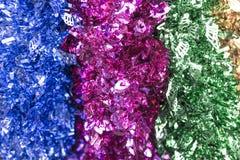 Garland. Colorful festive decorative garland background Stock Photography