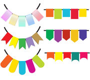 Garland colorful Stock Image