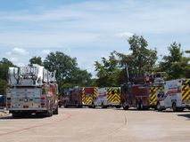 Garland Fire Department Covers Large Area. Garland is no different than many of the suburban areas in the Metroplex that are experiencing rapid growth. Garland royalty free stock photo