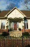 garland frontowe dom Zdjęcie Stock