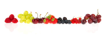 Garland from fruit Royalty Free Stock Images
