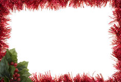Garland Holiday Border Stock Images