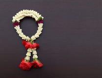 Garland of jasmine flower Royalty Free Stock Photo