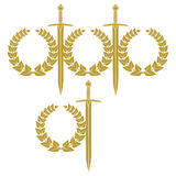 garland miecz Obraz Royalty Free