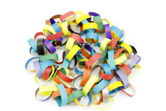 Garland paper royalty free stock images