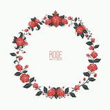 Garland rose love Stock Photo