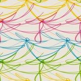 Garland seamless pattern. Vector illustration, happy decoration design Royalty Free Stock Photo