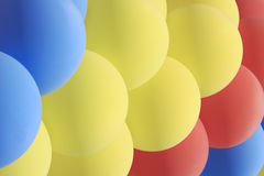 Garland of a set of balloons Royalty Free Stock Photo
