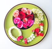 Spa rose garland of thailand Royalty Free Stock Photos