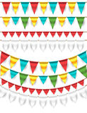 Garlands Royalty Free Stock Photos