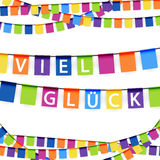 Garlands for lucky time Royalty Free Stock Photos