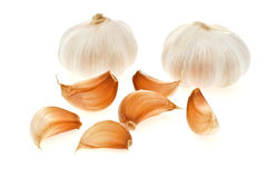 Garlic. Is the main ingredient in Thai cooking Royalty Free Stock Images