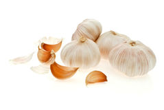 Garlic. Is the main ingredient in Thai cooking Stock Photo
