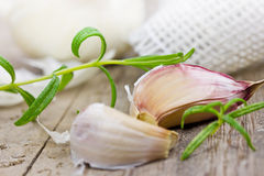 garlic Foto de Stock