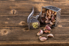garlic Imagens de Stock Royalty Free
