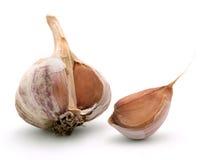 Garlic. Isolated on white background Royalty Free Stock Images