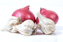 Garlic And Onions Stock Image