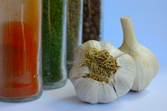Free Garlic And Spice Royalty Free Stock Image - 2464826