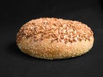 Garlic Bagel Stock Photography
