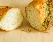Garlic baguette Royalty Free Stock Image