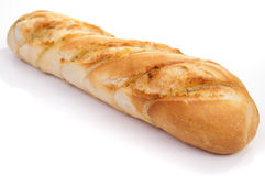 Garlic baguette Stock Photos