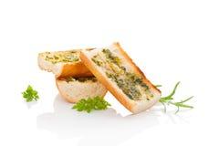 Garlic baguette. Stock Images
