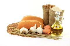 Free Garlic Bread. Stock Photos - 17445563