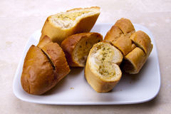 Garlic bread. Royalty Free Stock Images