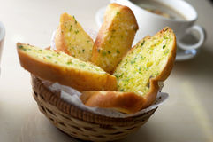 Free Garlic Bread Stock Photography - 26337972