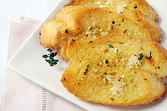 Garlic Bread Stock Photos