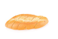 garlic bread against white background Royalty Free Stock Photography