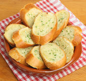 Garlic Bread Baguette Royalty Free Stock Photo