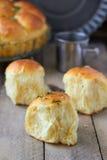 Garlic bread buns. Seasoned with dill Royalty Free Stock Image