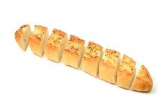 Garlic Bread homemade isolate on white background Stock Photo