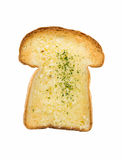 Garlic bread isolated on white background Royalty Free Stock Images
