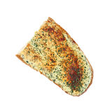 Garlic Bread on White Stock Images