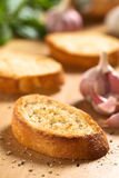 Garlic Bruschetta Stock Image