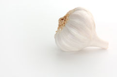 Garlic bulb. Isolated on white Royalty Free Stock Photography