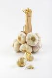 Garlic bulbs and cloves Stock Photo