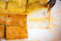 Garlic cheese bread Royalty Free Stock Image