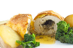 Garlic Chicken Kiev Stock Images
