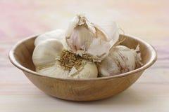 Garlic close-up Royalty Free Stock Images