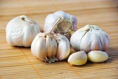 Garlic. The close up of garlic Royalty Free Stock Images
