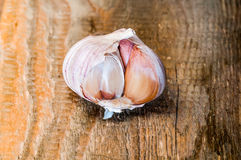 Garlic closeup Royalty Free Stock Photography