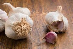 Garlic with clove Stock Photos